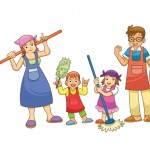 family-house-cleaning